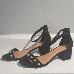 Black dress sandal